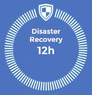 Disaster Recovery 12h, business continuity