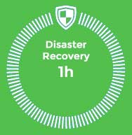 Disaster Recovery 1h, business continuity