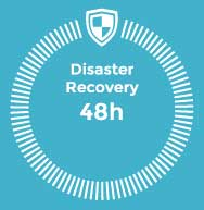 Disaster Recovery 48h, business continuity