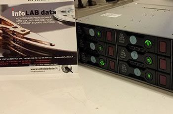 recupero dati HP DL380