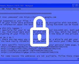 recuperare file criptati