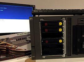 Recupero dati da Server HP