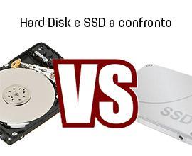 confronto hard disk e ssd