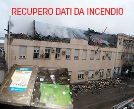 recupero dati da incendio