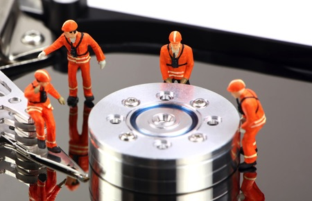 recupero dati camera bianca, recupero dati hard disk